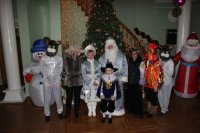 В Ивановке в разгаре Новогодние праздники