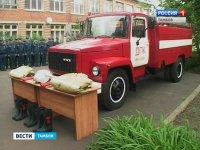 2016-05-14 Пожарная машина Вести Тамбов видео