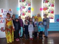 Детский праздник в Знаменском
