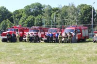 Сбор добровольных пожарных в Ивановке
