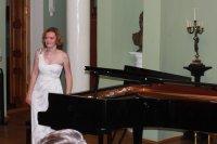 В Ивановке состоялся концерт Элеоноры Карпуховой