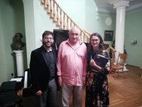 В Ивановке прошел концерт Карлеса Мариго и Дарьи Медведевой