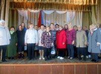 День пожилого человека в Знаменском