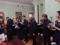В Ивановке прошел концерт Натальи Петрожицкой, Алексея Гориболя,Рустама Комачкова, Павла Коновалова