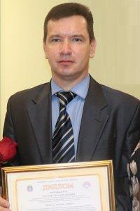Поздравляем А. В. Сапунова с победой в Областном конкурсе