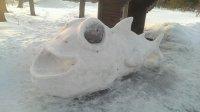 Снежные фигуры 2015