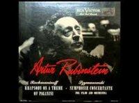 Artur Rubinstein, 1947: Rhapsody